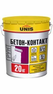 UNIS Бетон-Контакт (20кг)расход на 70м2