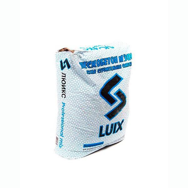 Пескобетон М-300 Люикс (Luix) 40 кг расход на 2 м2