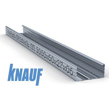 Профиль стоечный  Knauf ПС 60х27х4000 мм
