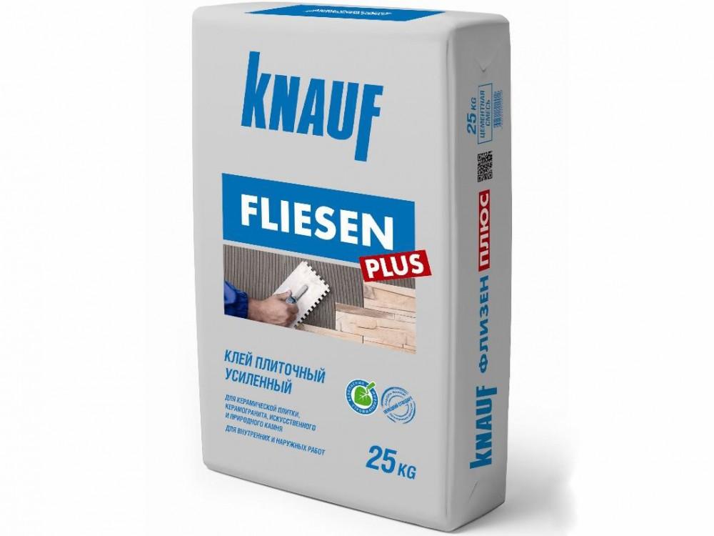 Плиточный клей Knauf Флизен плюс, 25 кг