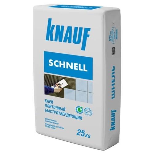 Плиточный клей Knauf Шнельклебер, 25 кг