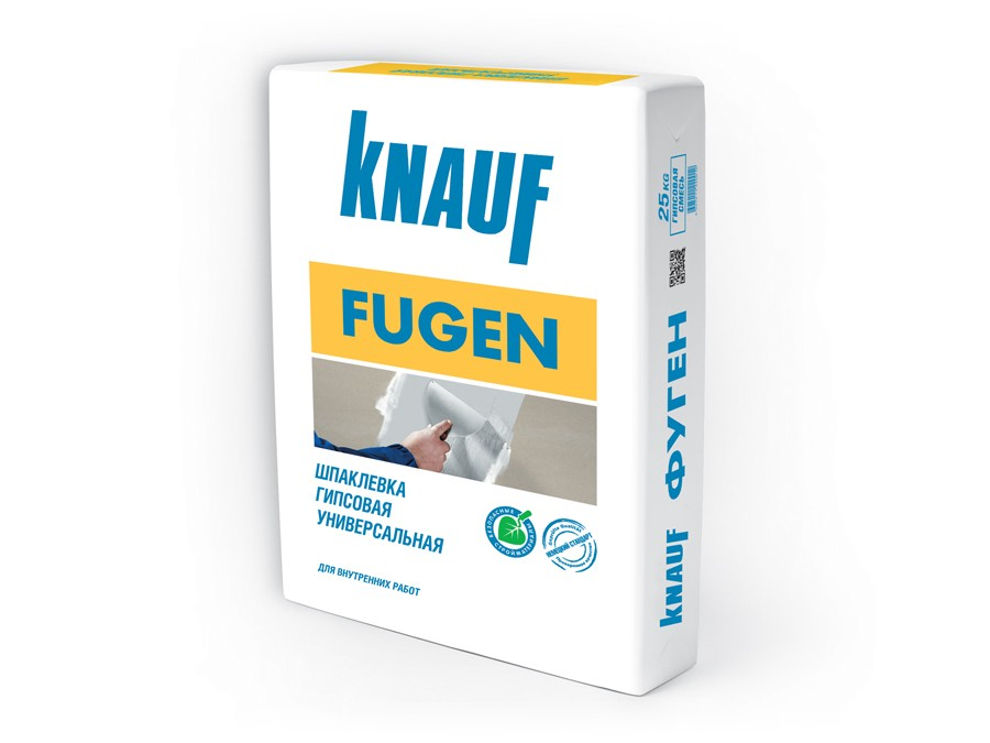 Шпатлевка KNAUF Fugen 25кг расход на 25м2