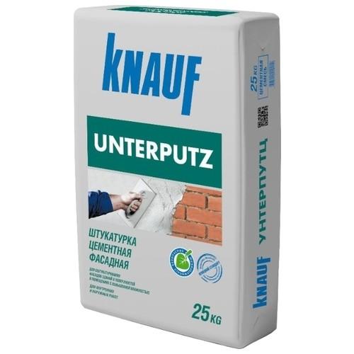 Штукатурка KNAUF Unterputz, 25 кг расход на 1,4м2