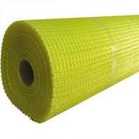 Сетка фасадная 5х5мм желтая 30м
