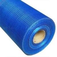 Сетка фасадная 5х5мм синяя 30м