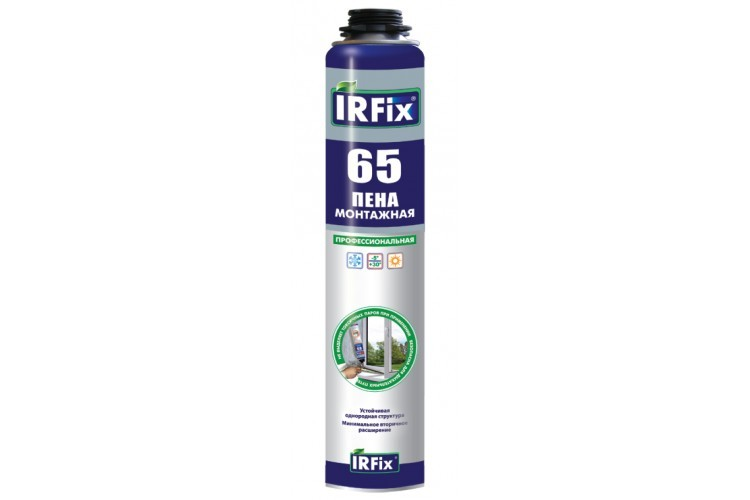 Пена монтажная Професиональна irfix до 45 литров