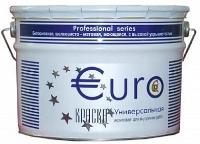 Евро гермес 15 кг белая влагостойкая моющееся водоимульсионная расход на 75 м2
