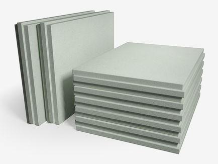 Плита пазогребневая Кнауф полнотелая 667х500х80 мм расход на 0,3 м2