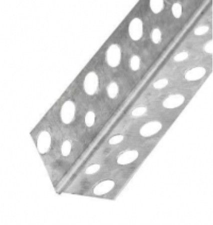 Уголок 31х31 перфорированый оцинков., 3м