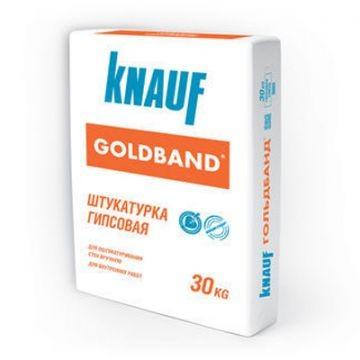 Штукатурка KNAUF Goldband, 30 кг расход на 3,5 м2