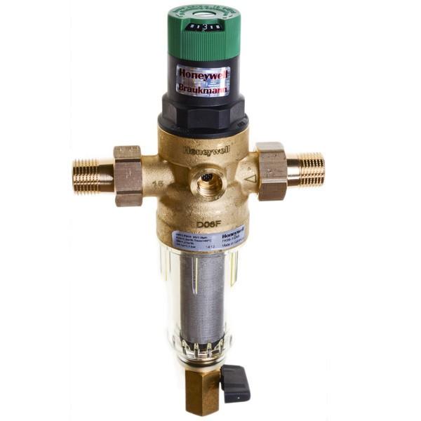 Самопромывной фильтр HONIWEL с редуктором давления (комплект)