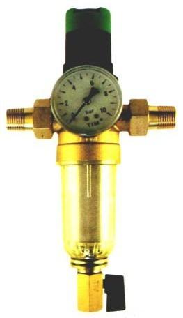 Самопромывной фильтр TIM с редуктором давления (комплект)