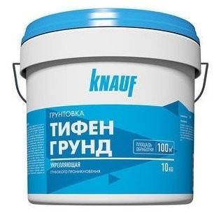 КНАУФ Грунтовка KNAUF Тифенгрунд (10 кг) расход на 60-100м2