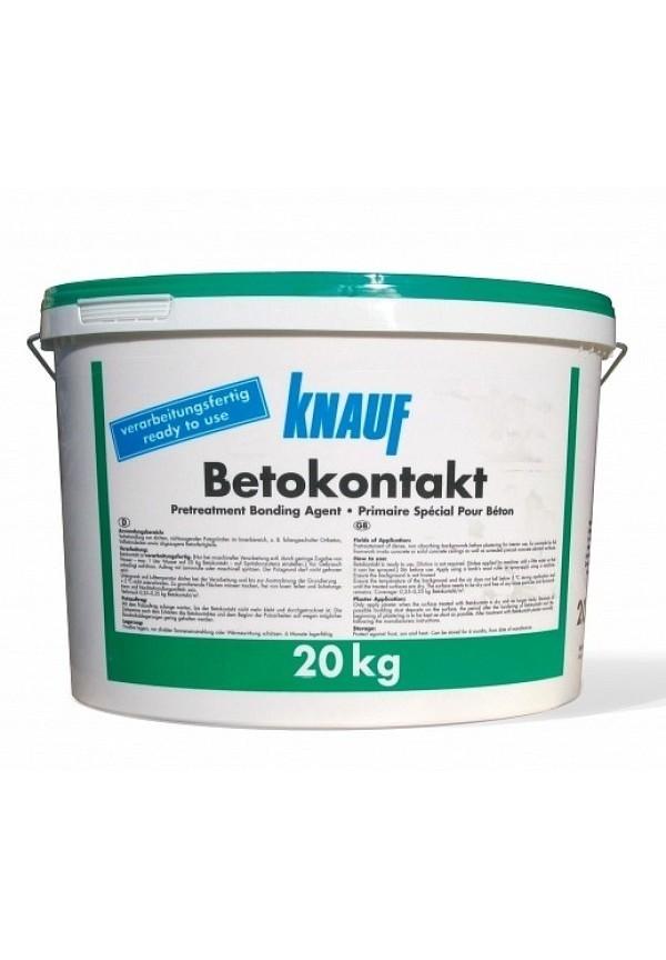 КНАУФ Бетоконтакт KNAUF/ Кнауф грунтовка 20 кг расход на 87м2