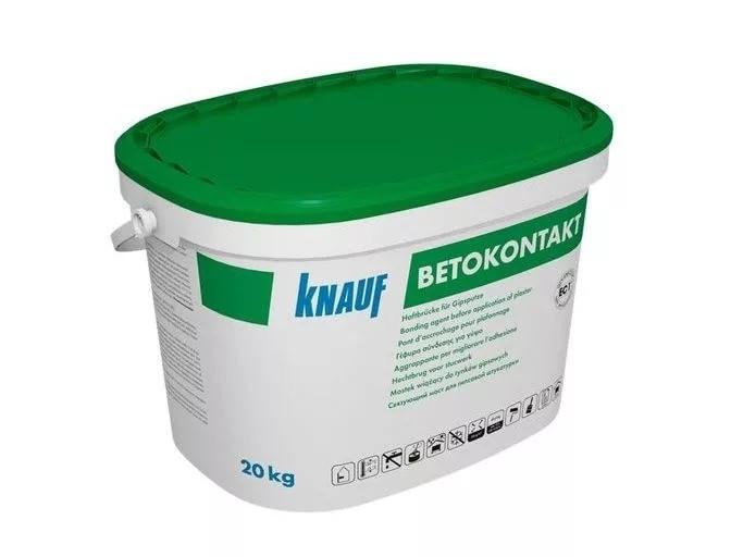 Бетоконтакт KNAUF/ Кнауф грунтовка 20 кг расход на 87м2